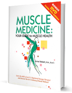 Muscle Medicine by Anne Robert RN, RMT