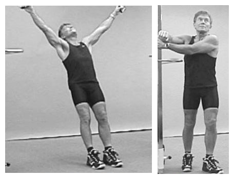 Perfect posture for maximum strength.