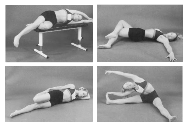 Stretches for tight two-joint hip flexors