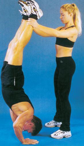 Hand-stand pushups