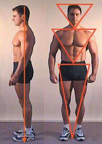 Franco Cavaleri demonstrates the perfect posture.