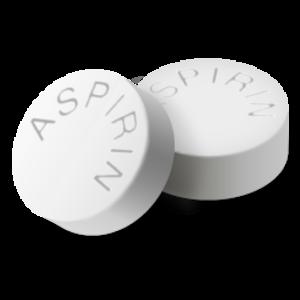 Aspirin against cancer.