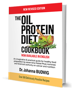 Oil Protein Diet by Dr Johanna Budwig
